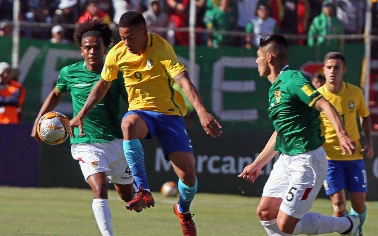На Бразилия не му стигна въздух срещу Боливия