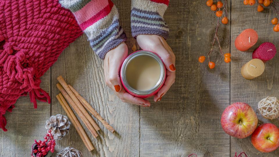 есен чай кафе канела уютно