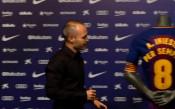 Иниеста – първият футболист в историята на Барса с безсрочен договор