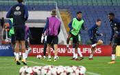 Тренировката на Франция в София<strong> източник: LAP.bg</strong>