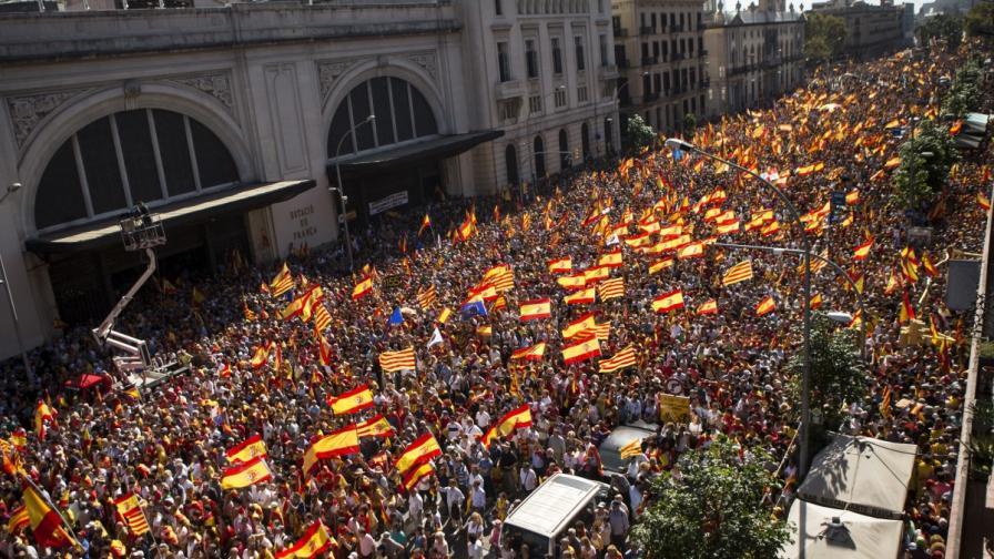 Шествието в Барселона