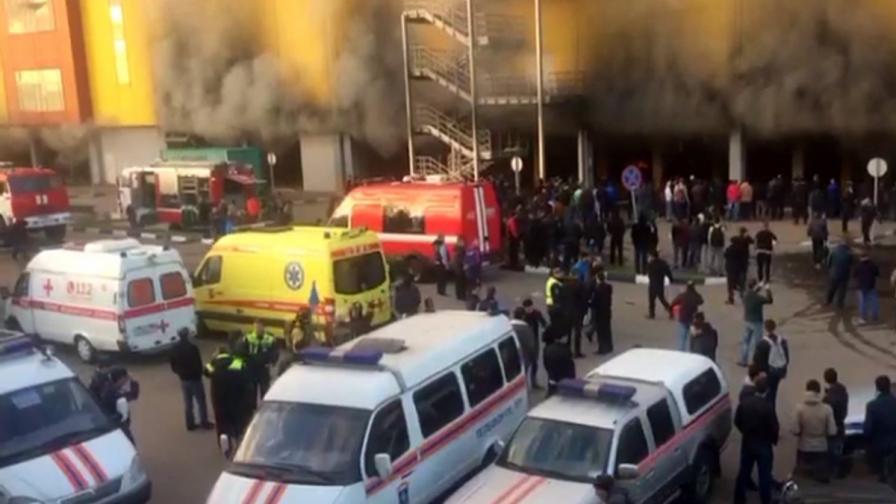 Пожарът в Москва