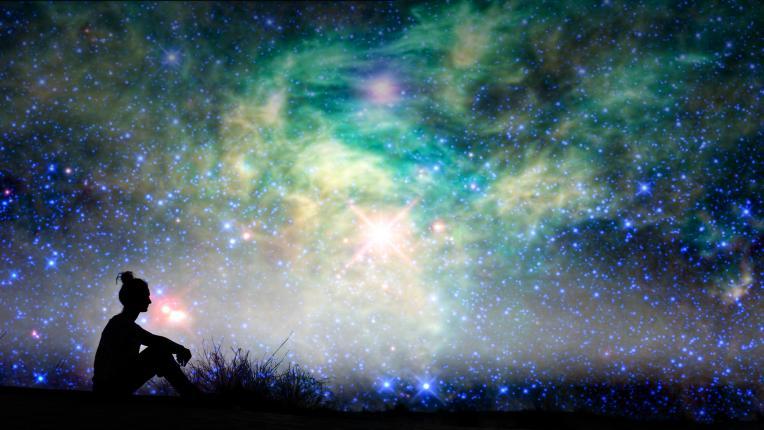 небе звезди