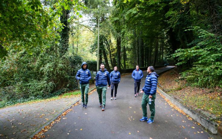 Националите загряха за Люксембург с разходка