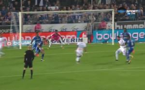 Пайе рано прониза Страсбург за 1:0