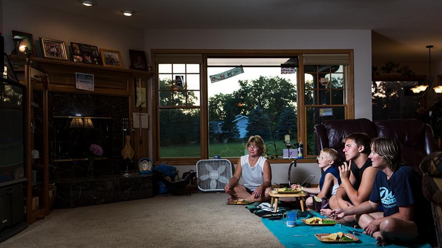 Вечерна смяна: как се хранят различните семейства