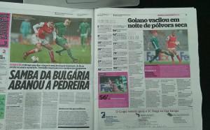 Пресата в Португалия: Българска самба разтърси скалата