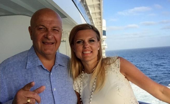 Стефан Шарлопов със съпругата си Бояна