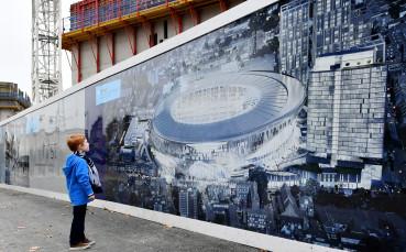 Тотнъм ще се премести на новия си стадион най-рано през април