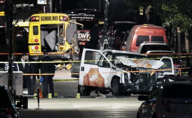 Ситуацията в Ню Йорк, след атентата в Манхатън, при който бяха прегазени и убити 8 души