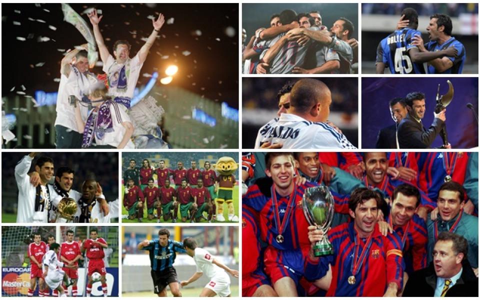 Бившият футболист на Реал Мадрид и Барселона - Луиш Фиго