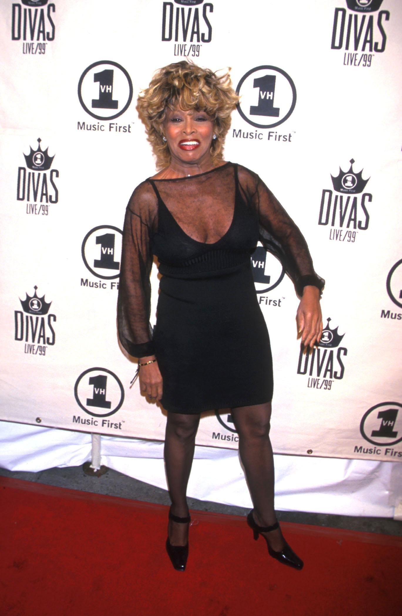 Тина Търнър в своите 50през 90-те години