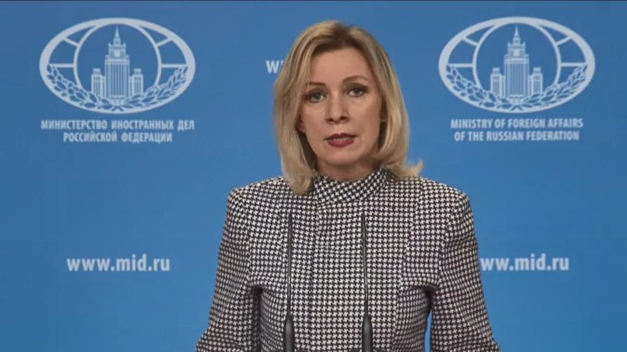 Русия атакува България, Захарова: Направихте шоу