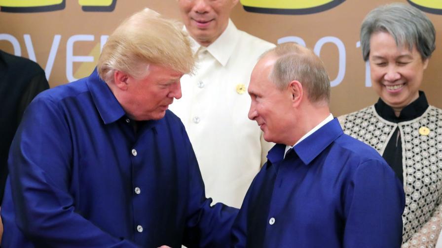 Путин и Тръмп приветстваха сключването на 8 ноември в Аман на меморандум между САЩ, Русия и Йордания, в основата на който е прекратяване на огъня в южната част на Сирия.