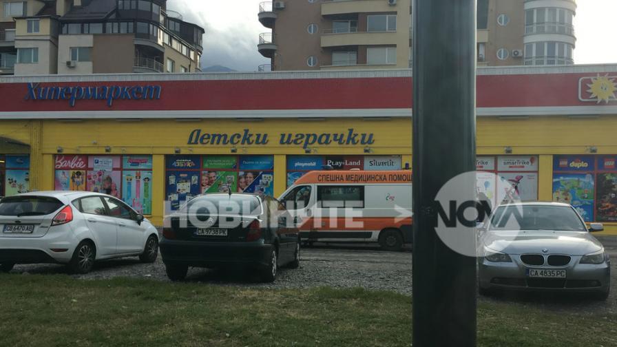 Стрелба и преследване до детски магазин в София