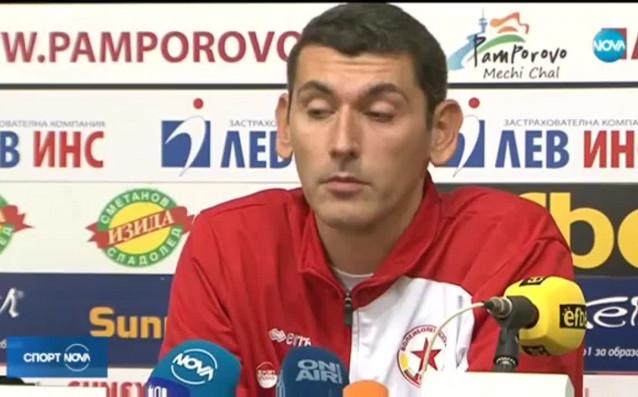 Треньорът на волейболния ЦСКА Александър Попов източник: Нова Броудкастинг Груп
