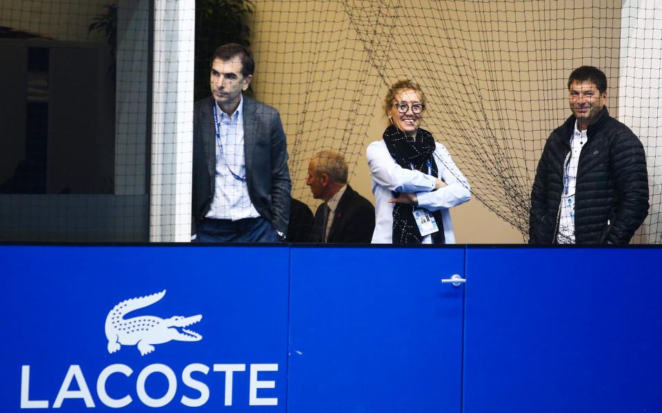 Гришо тренира за Гофен пред погледите на родителите