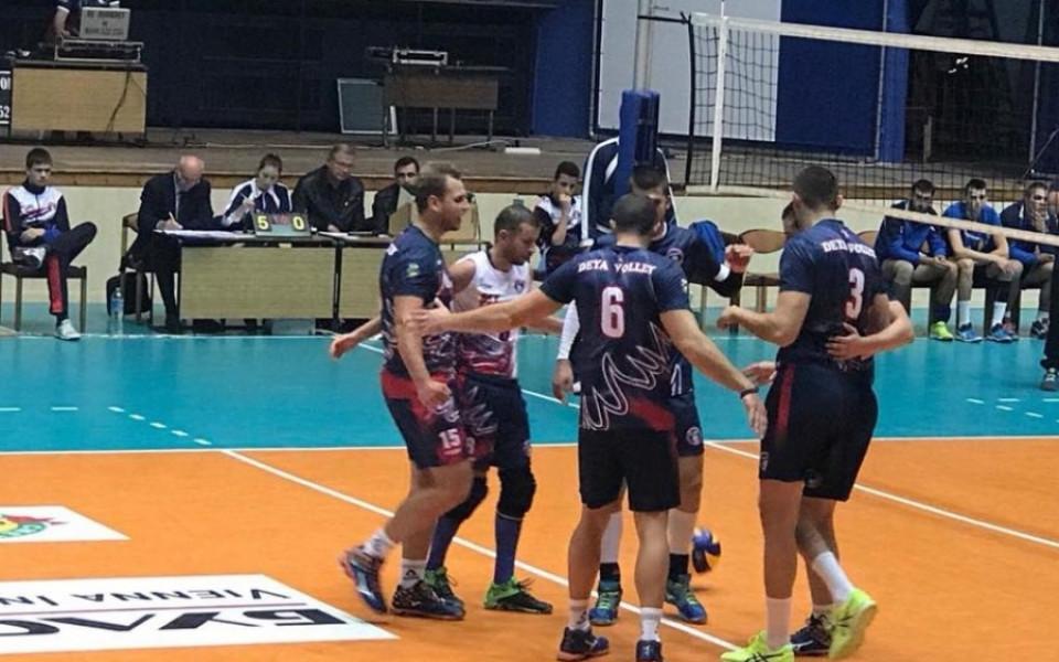 Волейболната купа при мъжете стартира на 2 декември