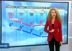 Прогноза за времето (17.11.2017 - централна)