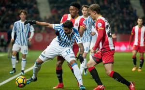 Жирона спаси точката срещу Реал Сосиедад
