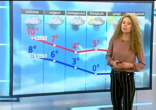 Прогноза за времето (18.11.2017 - обедна емисия)