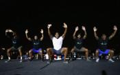 Джошуа и Рио Фърдинанд се включиха във фитнес предизвикателство в Дубай