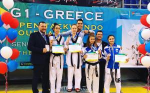 България обра медалите на Гърция Оупън 2017