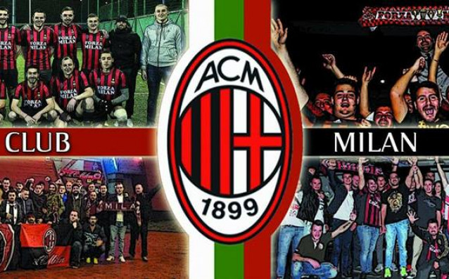 Новият официален фенклуб на Милан у нас източник: milan-bulgaria.net