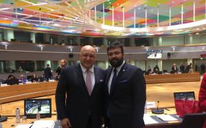 Кралев, министрите на спорта на ЕС и Томас Бах обсъдиха конфликта в баскетболна Европа