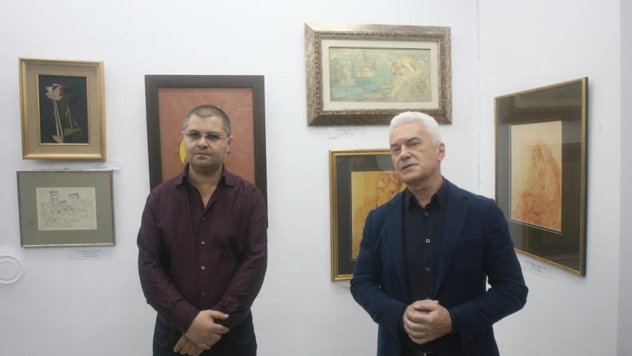 Волен Сидеров отвори собствена галерия