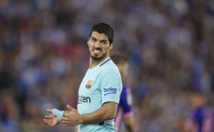 Отмениха жълтия картон на Луис Суарес в Ла Лига