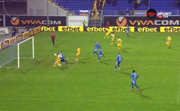 Гол с ръка носи успеха на Левски срещу Верея