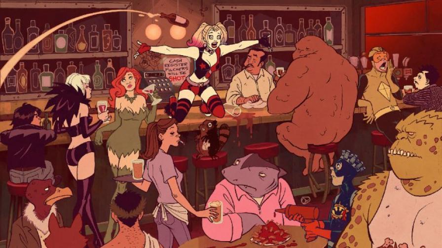 Харли Куин се завръща като анимационна героиня