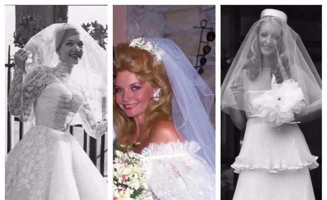 Коя сватбена рокля е била хит в годината ти на раждане (СНИМКИ)