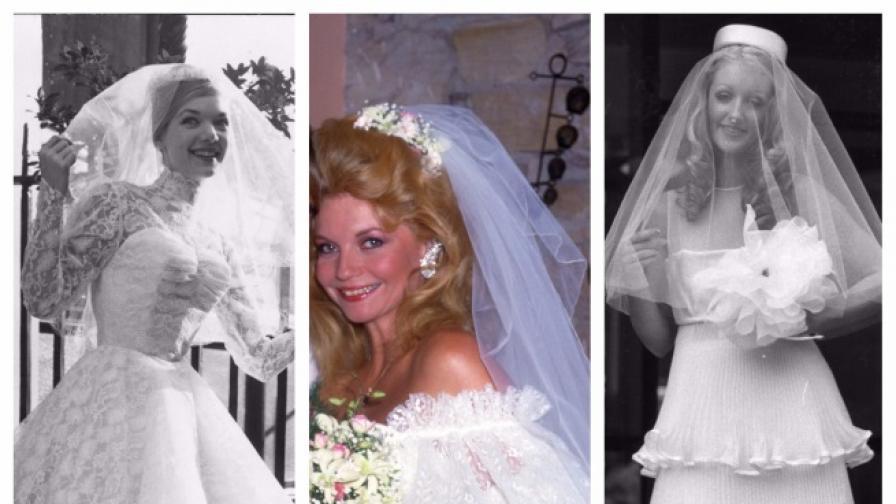<p>Коя сватбена рокля е била хит в годината ти на раждане</p>