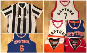 Фланелки на Ювентус, от НБА и НХЛ в Благотворителния търг на Дарик