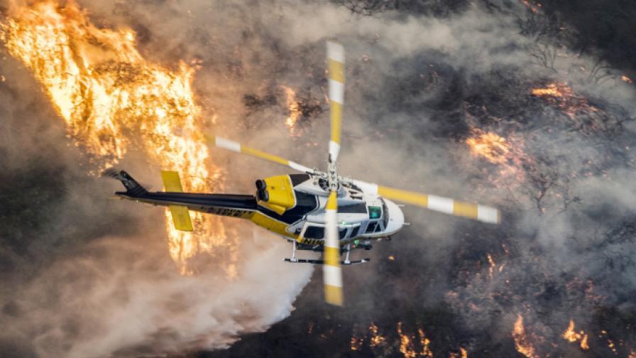Пламъците в Ел Ей стигнаха до дома на Рупърт Мърдок