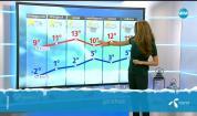 Прогноза за времето (11.12.2017 - обедна)