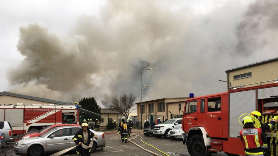 Взриви се най-големият газов хъб в Централна Европа