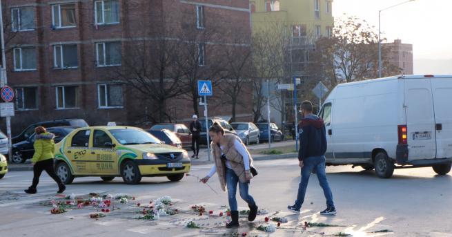 Над час кръстовището в Благоевград, където във вторник сутринта бе