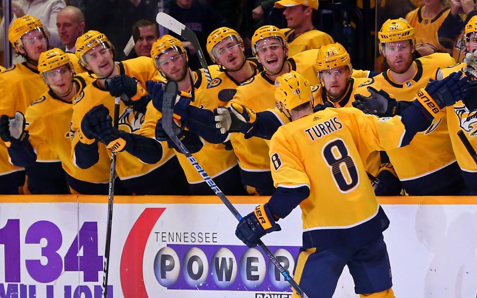 Нешвил изпусна да си осигури първото място на Запад в НХЛ