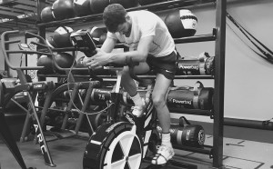 Григор Димитров продължава да се труди във фитнеса