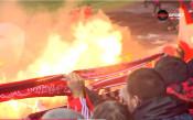Почти пълен стадион посрещна ЦСКА и Лудогорец