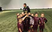 Първи коледен турнир на Академия Ивелин Попов