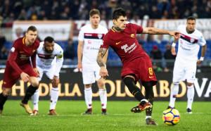 Късна драма донесе изстрадана победа за Рома