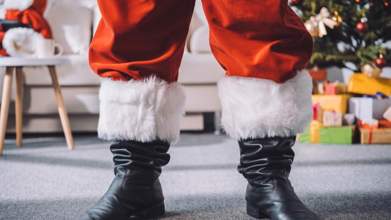 А Дядо Коледа изобщо не беше дядо...