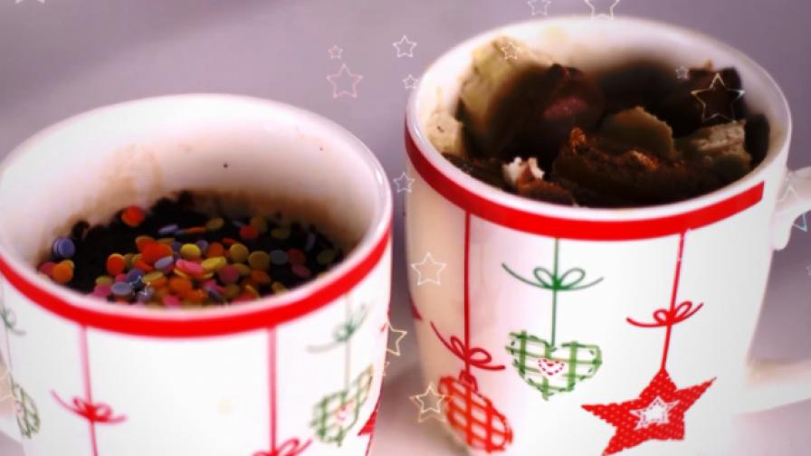 <p>Нестандартен десерт за Коледа в лесни стъпки</p>