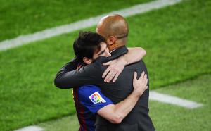 Гуардиола: Щом Меси играе в Барселона, значи те са фаворит в ШЛ