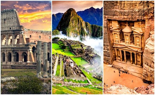 Можете ли да назовете Седемте чудеса на света?
