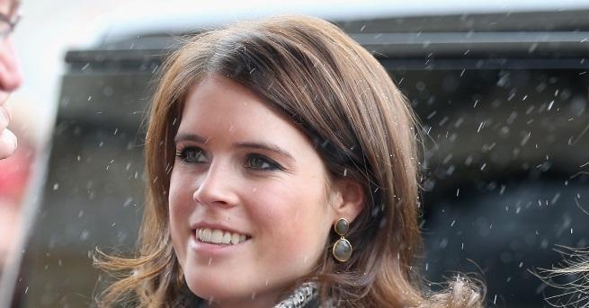 Принцеса Евгения на Йорк, дъщерята на принц Андрю (трето дете
